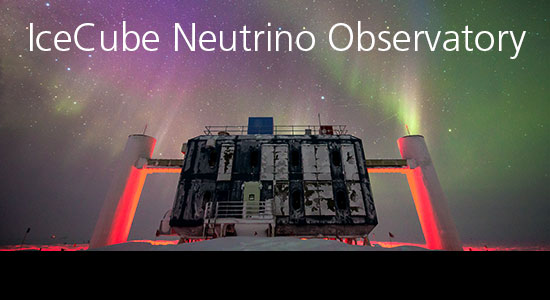 Go to IceCube - the Neutrino research group at the Niels Bohr Institute